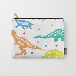 Dinosaur Childrens Kids Triceratops T-Rex Tyrannosaurus Rex Carry-All Pouch