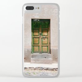 Bolivia door 3 Clear iPhone Case