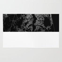 Jacksonville map Rug
