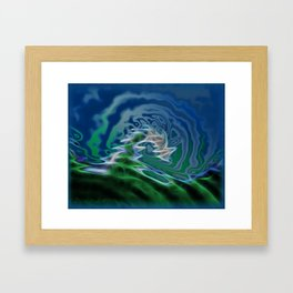 Torrent Framed Art Print