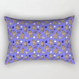 Hanukkah Gingerbread Rectangular Pillow