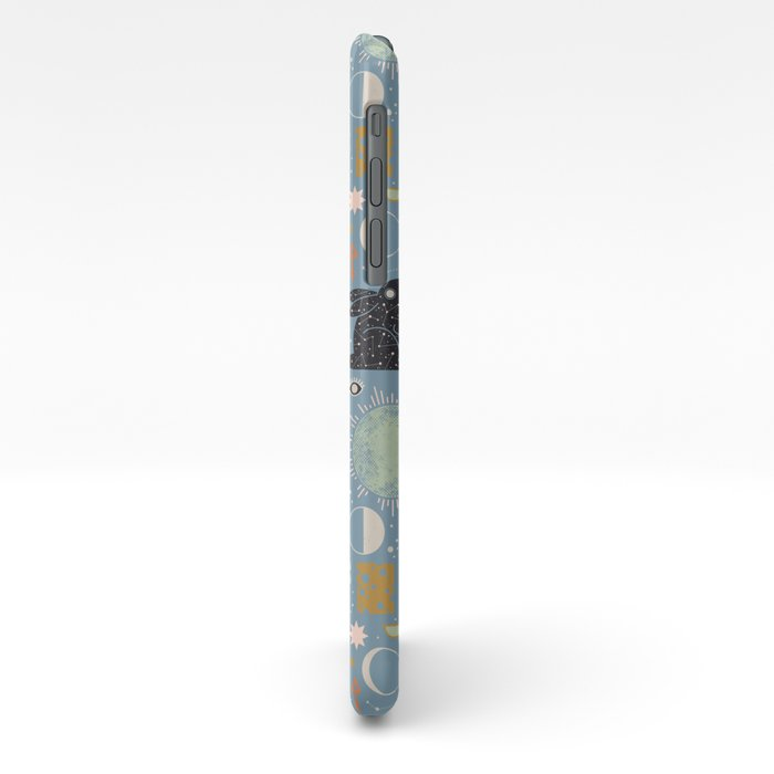 Lunar Pattern: Blue Moon iphone 11 case