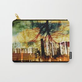 Darkness Tree - Double Exposure Carry-All Pouch