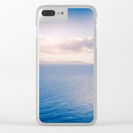 Whitsunday Islands Seascape Clear iPhone Case