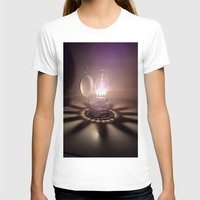 duvet cover T-shirts featuring LIGHT AND SHADOW DUVET COVER by aztosaha