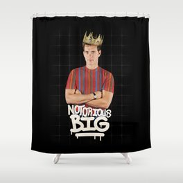 Notorious BIG Shower Curtain