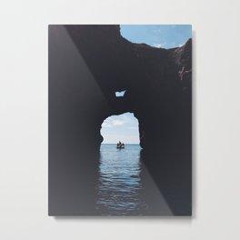 In-between Metal Print