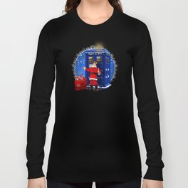 10th Doctor who Santa claus Long Sleeve T-shirt