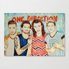 One Direction, Louis, Niall, Liam, Harry, Singer Canvas Print