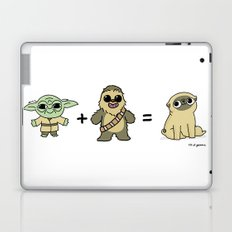 The origin of pugs Laptop & iPad Skin