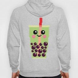 Happy Pixel Bubble Tea Hoody