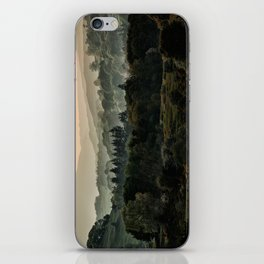 Foggy morning in Lake District iPhone Skin
