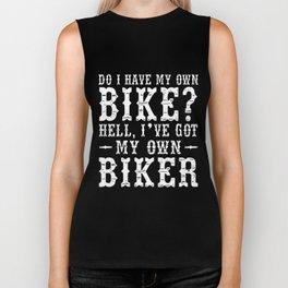 do i have my own bike hell i ve got my own biker cycle Biker Tank