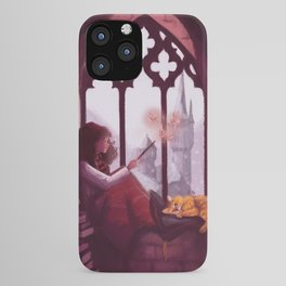 Hermione Reading iPhone Case