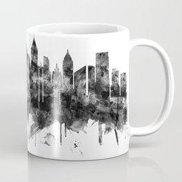 Atlanta Georgia Skyline BW Coffee Mug