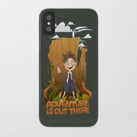 adventure is out there iPhone & iPod Cases featuring Adventure by BlancaJP - Jonna Piltti
