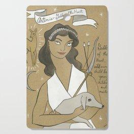 Artemis - Greek Goddess Cutting Board