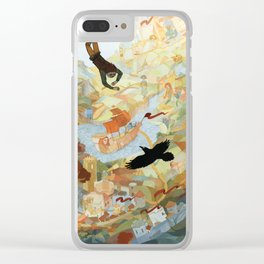The Things I Do for Love Clear iPhone Case