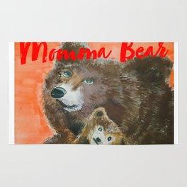 momma bear Rug