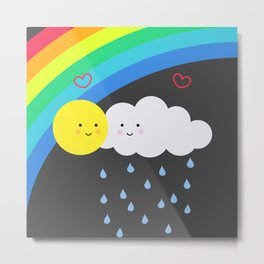 the truth about rainbows Metal Print