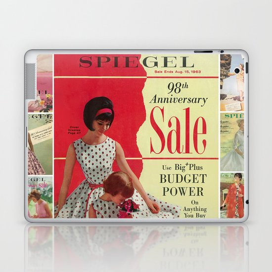 1963 - 98th Anniversary Sale -  Summer Catalog Cover Laptop & iPad Skin