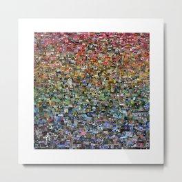 dreaming rainbow village Metal Print