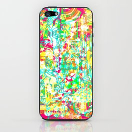 Tropical Poster iPhone Skin