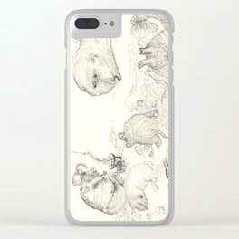 Goblin Camp Clear iPhone Case
