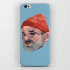 Steve Zissou / Bill Murray / Life Aquatic iPhone & iPod Skin