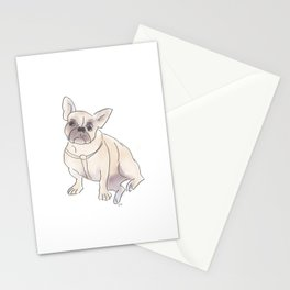 Cafe Dogs: Binkie the Frenchie Stationery Cards