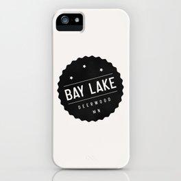 BAY LAKE iPhone Case