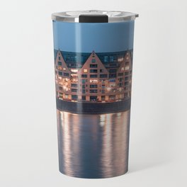 Architecture at night Travel Mug