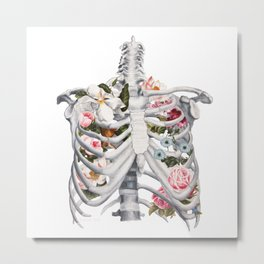 Botanatomical: Botanatomy II Metal Print