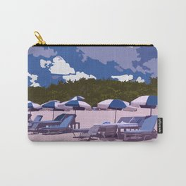 beach side Naples Florida Carry-All Pouch