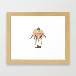 The Dribbler Framed Art Print