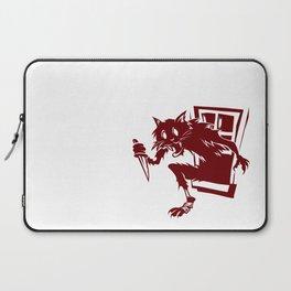 Home Invasion Cat Laptop Sleeve