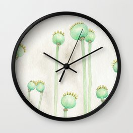 Pod Family Wall Clock