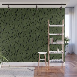 Leaves Wall Mural