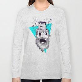 SYNTH-POP BLUE Long Sleeve T-shirt