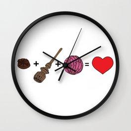 Amor Dulce Wall Clock