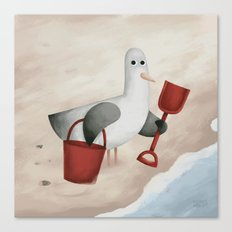 Bucket and Spade Canvas Print
