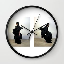 Wrappie Flow Wall Clock