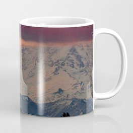 Autumn Morning Light on Mount Rainier Coffee Mug