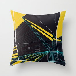 Archetype: Color Throw Pillow