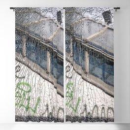 smashed window Blackout Curtain