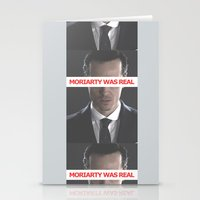 moriarty Stationery Cards featuring Moriarty Was Real / Moriarty / IV by Earl of Grey