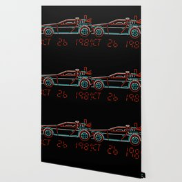 You Built a Time Machine...Out of a DeLorean? Wallpaper