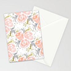 Sparkling Rosé flora Stationery Cards