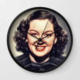 Rosalind Russell, Vintage Actress Wall Clock