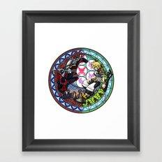 Kingdom Hearts Vanitas & Ventus Framed Art Print